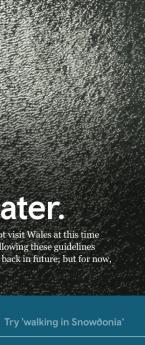 Visit Wales – Teaser