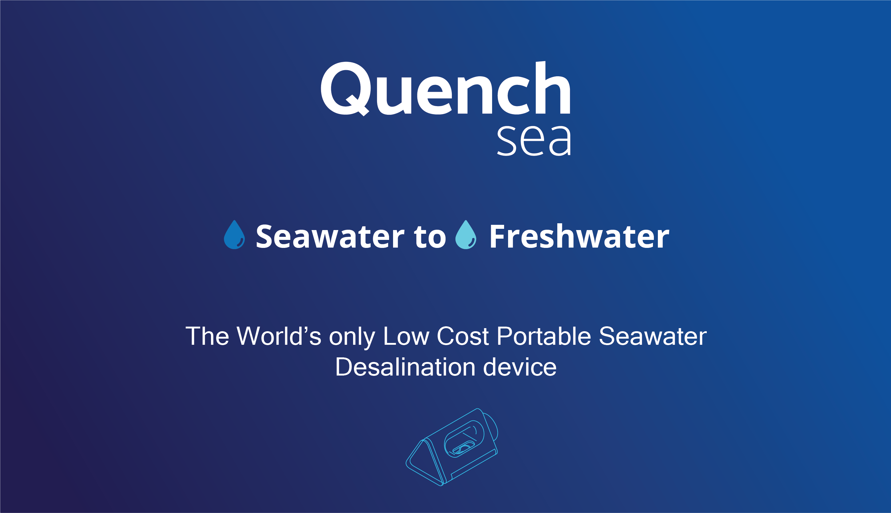 Turn Seawater Into Freshwater