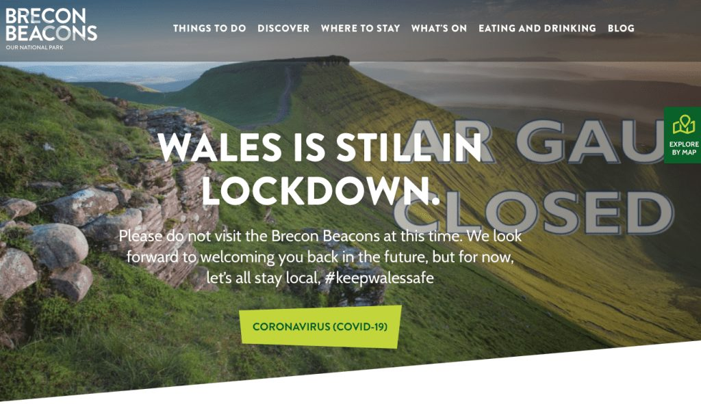What Have The Tourism And Countryside Authorities Been Doing During Lockdown?