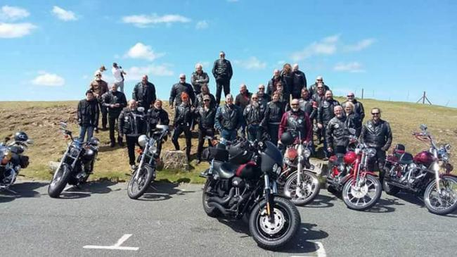 Motorbikes, Cafes and the Anti-Social's